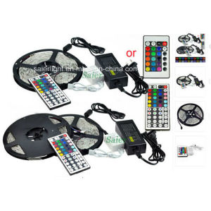 12V 5050 RGB 300 LEDs/Meter LED Strip Lighting Kit