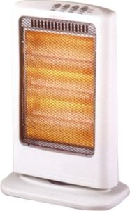 Halogen Infrared Electrical Heater, 1200W Small Size, Portable Halogen Heater