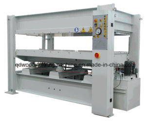 Woodworking Short Cycle Melamine Laminating Particle Board Hot Press Machine pictures & photos