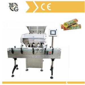 Paper or Plastic Tubes Candy Filling Capping Machine pictures & photos