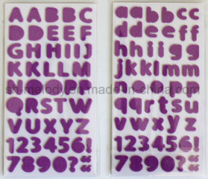 Multicolor Medium Alphabets Foam Stickers Perfect for Scrapbooking and Papercrafts pictures & photos