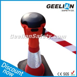 Red Retractable Traffic Cone Topper
