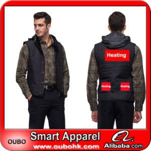Battery Heated Clothing >> Men S Vest With High Tech Electric Heating System Battery Heated Clothing Warm Oubohk