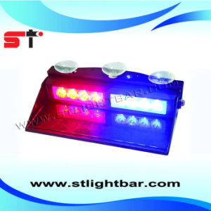 High Power Internal 8 LED Visor Strobe Light (LL106)