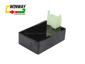 Ww-8107, Black 6 Pin Motorcycle DC Cdi Box Fit for Cg 125 pictures & photos