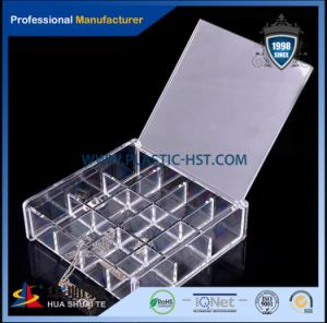 Logo Design Acrylic Makeup Holder Cosmetic Display Boxes-Hst pictures & photos