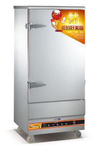 Delicieux 12 Trays Gas Rice Steamer Cabinet For Restaurant With 42kgs/Time (WF R