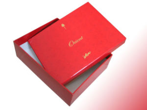 2015 High-Grade Velvet Jewelry Box pictures & photos