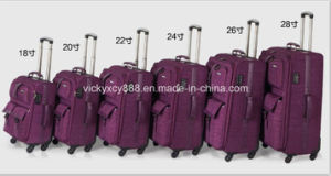 Top Quality Wheeled Trolley Luggage Travel Bag Suitcase Case (CY6838) pictures & photos