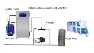 China 30g H Botted Water Disinfector Ozonator O3 Ozone Generator For Pure Water And Mineral Water Treatment China Ozone Generator Bottled Water Ozone Generator