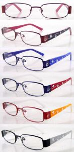 Classic Stainless Steel Kid Optical Frames with Unique Temple Design pictures & photos
