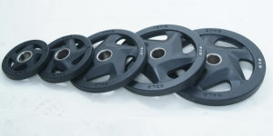 5 Holes Rubber Coated Weight Plate (SA16-A) pictures & photos
