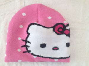 15faab051hello Kitty Cute Knitted Hat, Knitted Caps