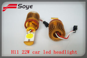 New Product High Power LED Headlight H11 22W 1200lm with Samsung LED Source, LED Car Headlight