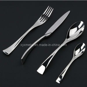 High Class Star Hotel Tableware Cutlery Set Stainless Steel Flatware pictures & photos