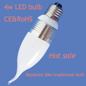 Energy Saving 4W LED Candle Bulb (CE&RoHS) (DF-E27A-4W)