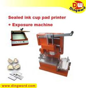 Manual Pad Printer with Ink Cup + Plate Making Kits (P160+)