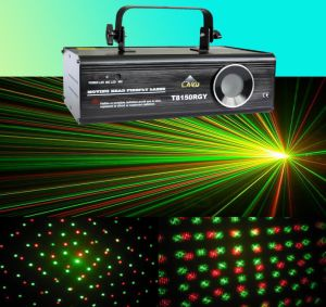Rgy Moving Head Firefly & Twinkling Star Laser Light - T8150rgy