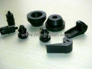 Black Auto Rubber Part with ISO SGS