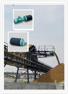 Wd Motorized Pulley Drum, Electric Conveyor Rubber Coated Roller, Conveuor Belt Roller