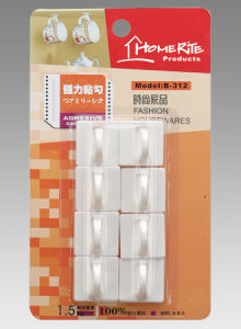 Plastic Adhesvie Hook (HK011) for Household Products
