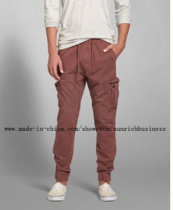 Men′s Cotton Twilll Cargo Pants (P15004) pictures & photos