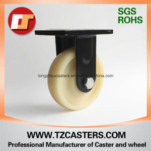 Spray-Paint Black Fixed Caster with Nylon Wheel 200*50 pictures & photos