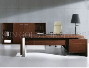 Popular Layout 6feet Boss Table Luxury Wooden Office Desk (SZ-OD483) pictures & photos