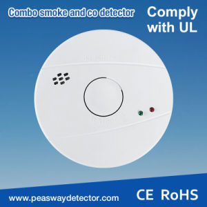 Peasway Smoke and Co Alarm Detector with En14604 Certification (PW-521)