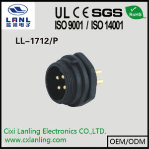 Ll1712/P Male and Female Waterproof Connector Circular Connector