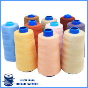 100% Polyester Sewing Thread for Cone Winding Machine