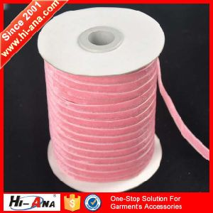 Fully Stocked Finest Quality Stretch Velvet Ribbon pictures & photos