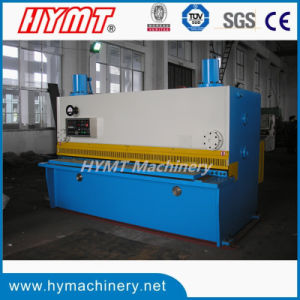 QC11Y-10X2500 NC control hydraulic guillotine steel plate shearing cutting machine pictures & photos