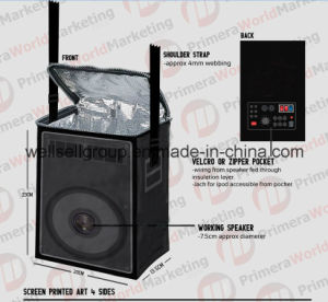 2015 New Style Mc Speaker Cooler Bag pictures & photos