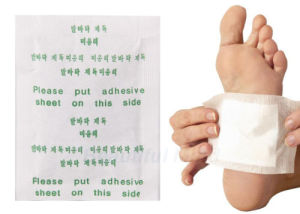 Bamboo Vinegar Detox Slimming Foot Patch Korea Detox Foot Patch pictures & photos