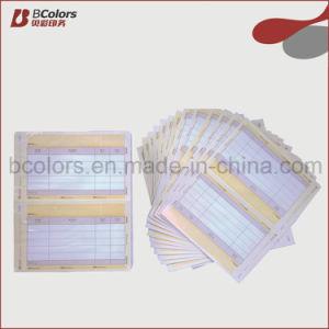 China Custom Invoice Books Multicolour Printing Press China - Custom invoice book