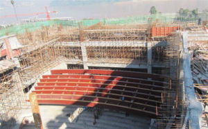 Stadium Tube Truss Structure Fabrication by China Steel Structure Manufacturer