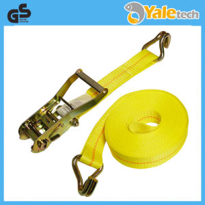 TUV/GS Certified Polyester Truck Winch Strap pictures & photos