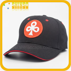 Black Cotton with 3D Embroidery Baseball Flexfit Cap (BC097SST)