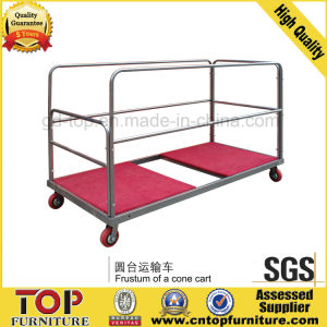 Strong Steel Round Table Trolley pictures & photos