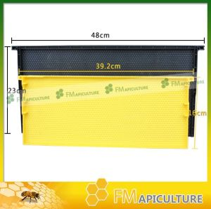 Beeswax Colorful Plastic Foundation Sheet Plastic Bee Frames