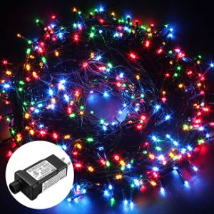 5mm multi color music string light led with controller and speaker ml01