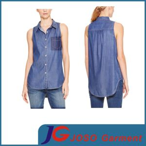 Jean Clothing Manufactory Shopping Mode Ladies Clothing (JC4110) pictures & photos