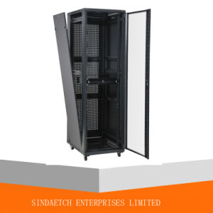 "19"" Network Cabinet with Lockable Rear Door pictures & photos"