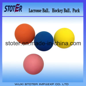 Multicolor Bouncy Mobility Lacrosse Ball