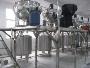 Industrial Use 200L Jam Cooking Pot pictures & photos