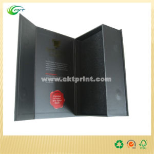 Black Gift Box with Lip and Base (CKT-CB-359)