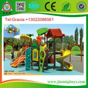 Plastic Playground Slide, Amusement Equipment Slide, Baby Playground Jmq-P042b