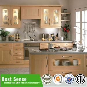 China Ready To Assemble Classic Kitchen Cabinet With Kitchen Island