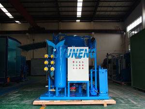 High Efficiency Portable Turbine Oil Purification Plant pictures & photos